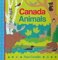 OUT OF STOCK/UNAVAILABLE Canada Animals Large Format Boardbook