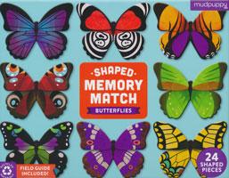 Shaped Memory Match Butterflies