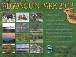 2022 Algonquin Park Calendar