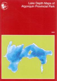 Lake Depth Maps of Algonquin Provincial Park