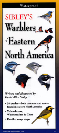 Folding Guide, Sibley's Warblers of Eastern North America