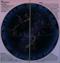 Folding Guide, Night Sky Guide