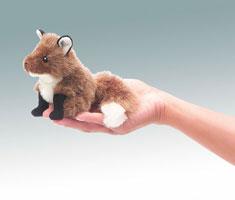Mini Red Fox Finger Puppet