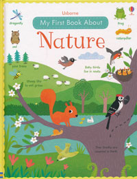 OUT OF STOCK/UNAVAILABLE Usborne My First Book About Nature