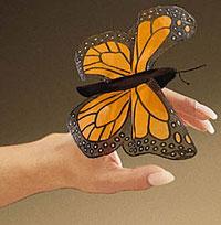 Mini Monarch Finger Puppet