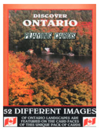 Discover Ontario Playing Card Deck