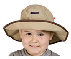 Tan Adjustable Sun Hat