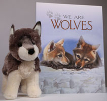 We Are Wolves with Wolf Stuffie