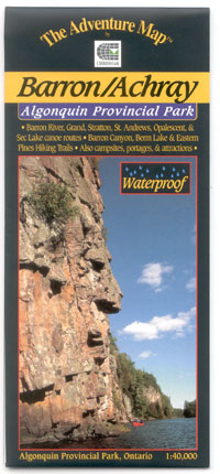 W. The Adventure Map Algonquin Park, Barron/Achray
