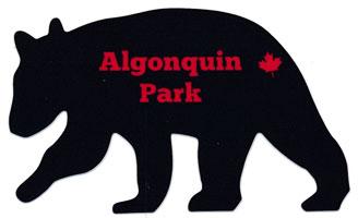 Bear Silhouette Bumper Sticker