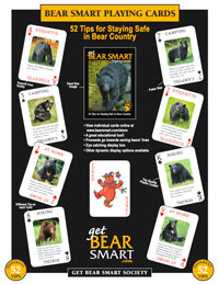 Bear Wise Playing Card Deck