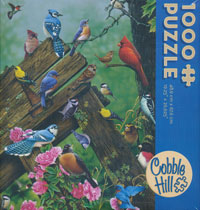 Birds of the Forest Puzzle 1000 pc