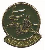 Canoeist Lapel Pin