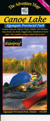 X. The Adventure Map Algonquin Park, Canoe Lake