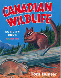 OUT OF STOCK/UNAVAILABLE Canadian Wildlife Activity Book, Volume One