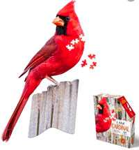 I Am Cardinal 300 pc Puzzle