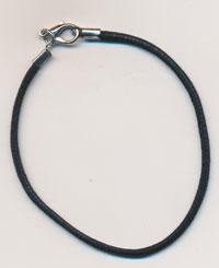 Braided Cord Bracelett for Charms