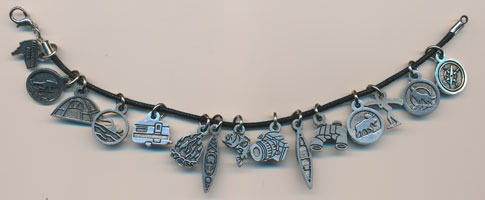 Pewter Charms, Made in Canada