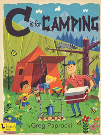 OUT OF STOCK/UNAVAILABLE C is for Camping