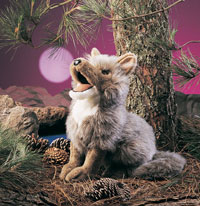 OUT OF STOCK/UNAVAILABLE Coyote Puppet