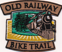 Old Railway Bike Trail Crest
