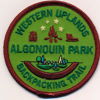 Western Uplands Backpacking Trail