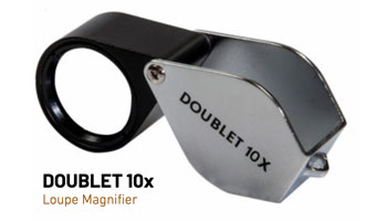 Doublet 10x Magnifiying Loupe 10731