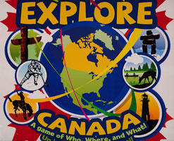 Explore Canada Game