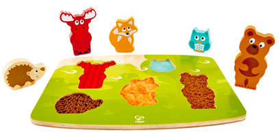 OUT OF STOCK/UNAVAILABLE Forest Animal Tactile Puzzle