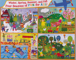 Seasons of Fun, 4 Puzzles in One