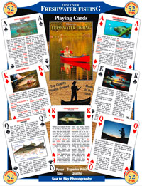Freshwater Fishing Playing Card Deck