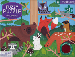 OUT OF STOCK/UNAVAILABLE Fuzzy Puzzle - Woodland