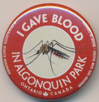 OUT OF STOCK/UNAVAILABLE I Gave Blood See Saw Badge