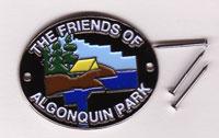F.O.A. Hiking Stick Medallion