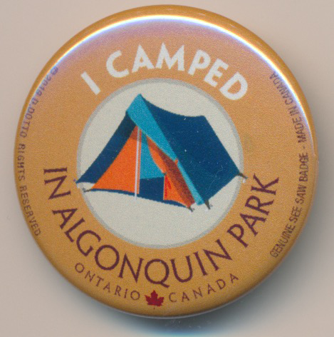 OUT OF STOCK/UNAVAILABLE I Camped in Algonquin Park See Saw Badge