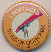 I Portaged See Saw Badge