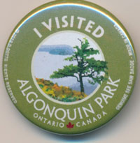 OUT OF STOCK/UNAVAILABLE I Visited Algonquin Park See Saw Badge