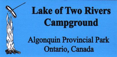 Lake of Two Rivers Bumper Sticker