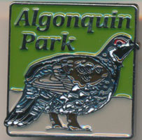 Spruce Grouse Lapel Pin