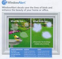 Multi Leaves Window Alert Decals