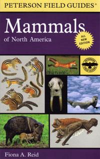 Mammals of North America, Peterson Field Guide