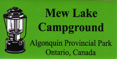Mew Lake Bumper Sticker