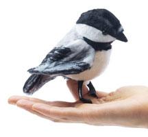 Mini Chickadee Finger Puppet