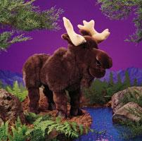 Bull Moose Hand Puppet