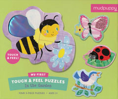 My First Touch and Feel Puzzle - In the Garden