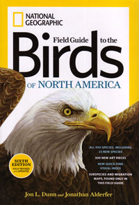 Field Guide to the Birds of North America, National Geographic