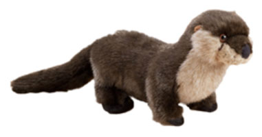 OUT OF STOCK/UNAVAILABLE River Otter Stuffed Animal 4091