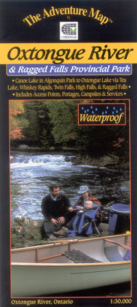 Z. The Adventure Map, Oxtongue River and Ragged Falls Provincial Park