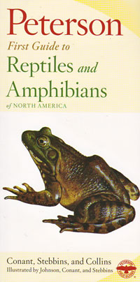 Reptiles and Amphibians, Peterson First Guide