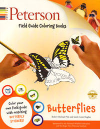 Peterson, Butterflies Colouring Book